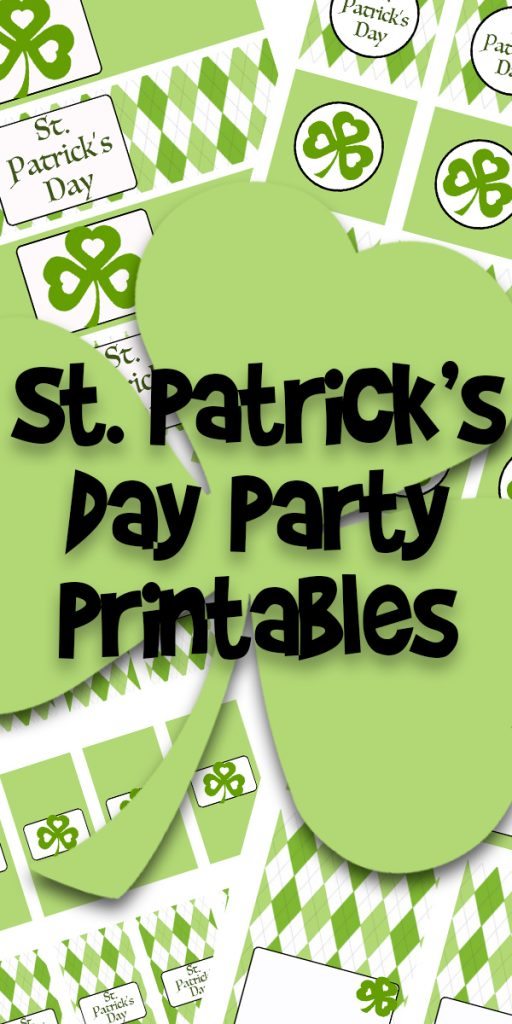 st patrick's day party printables