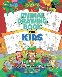Animal Drawing Book for Kids - NEW!