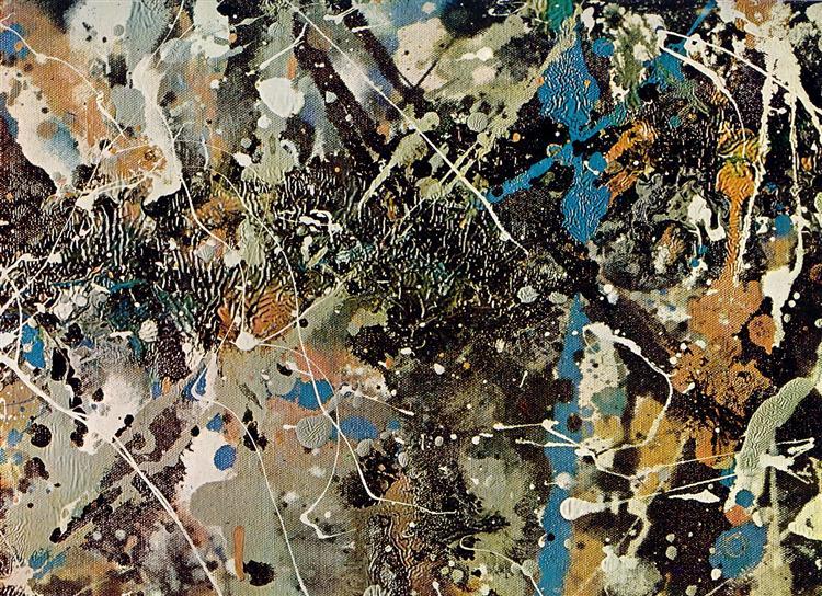 Splatter Wall Art Inspired By Jackson Pollock Woo Jr