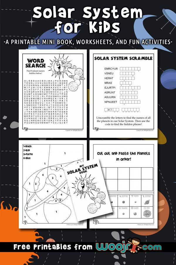Solar System for Kids Printables
