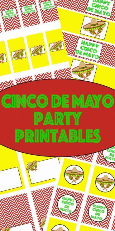 Cinco De Mayo Party Printables