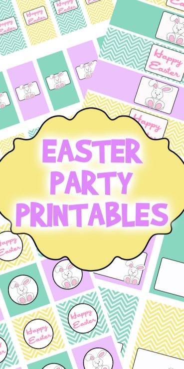 Easter Party Printables Set