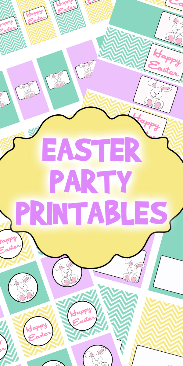Easter Party Printables Set Woo