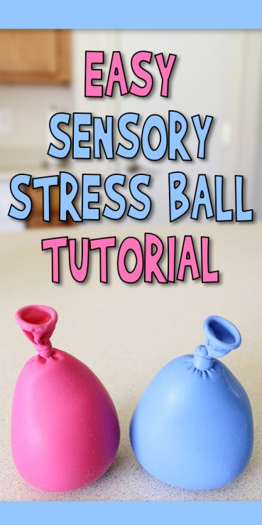 Easy Sensory Stress Ball Tutorial
