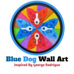 Blue Dog Wall Art: Inspired By George Rodrigue