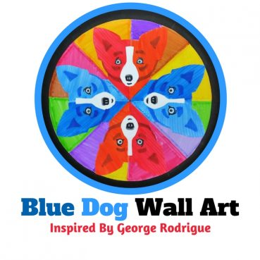 Blue Dog Art Project for Kids: Inspired By George Rodrigue
