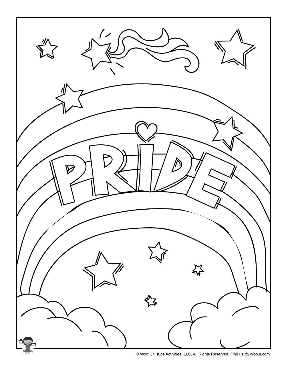PRIDE-LGBTQ-Coloring-Page | Woo! Jr. Kids Activities