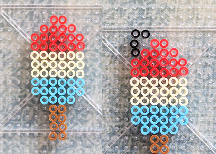 Perler Bead Popsicle Keychain Charm Tutorial 5 Woo Jr Kids