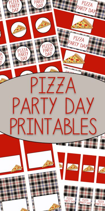 Pizza Party Day Printables