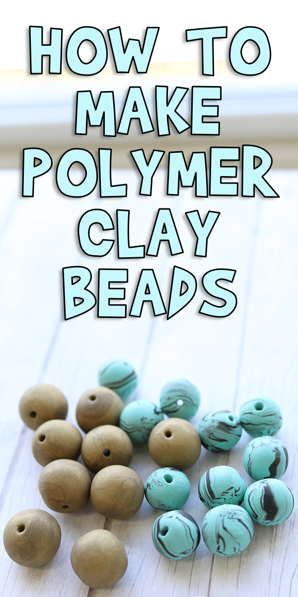 How To Make Polymer Clay Beads Woo Jr Kids Activities