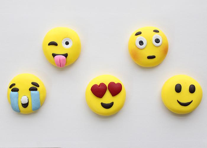 Polymer Clay Emoji Faces Tutorial