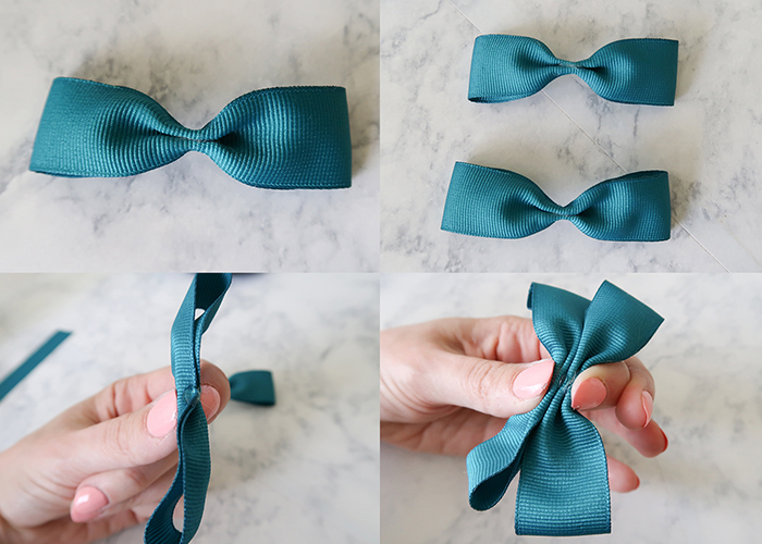 48637dcf6fa6 This creates the classic pinched bow shape