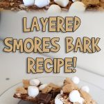Layered Smores Bark Recipe