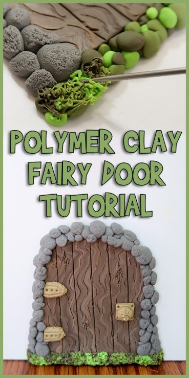 Polymer Clay Fairy Door Tutorial