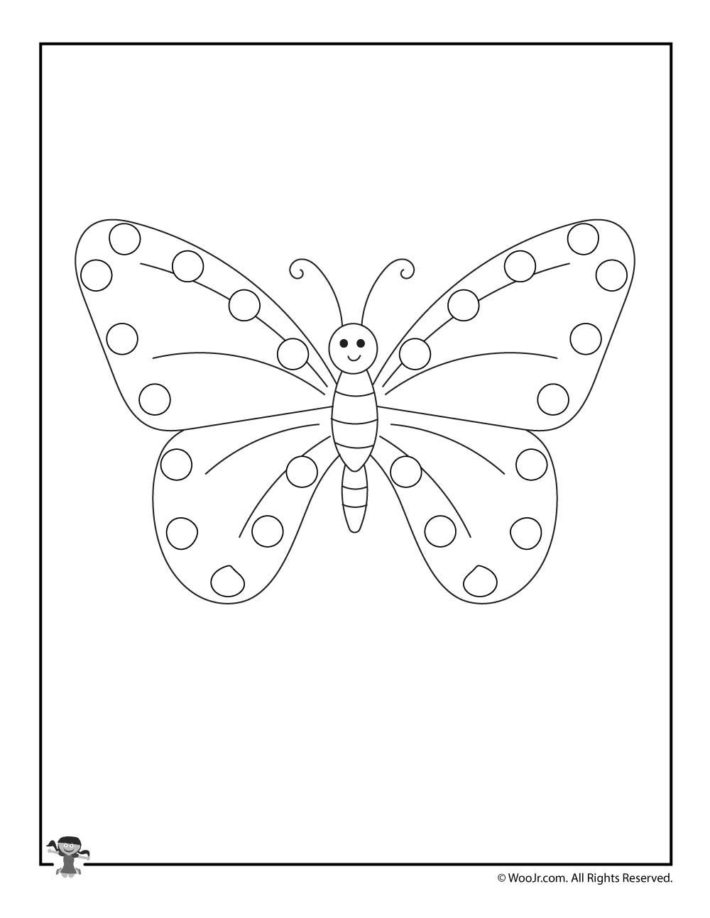 Butterfly Woo Jr Kids Activities