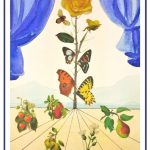 Salvador Dali Art Project: Step-By-Step Watercolor Botanical Collage