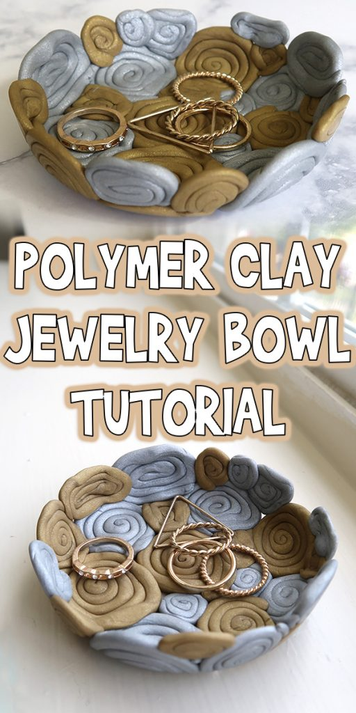 Polymer Clay Jewelry Bowl Tutorial