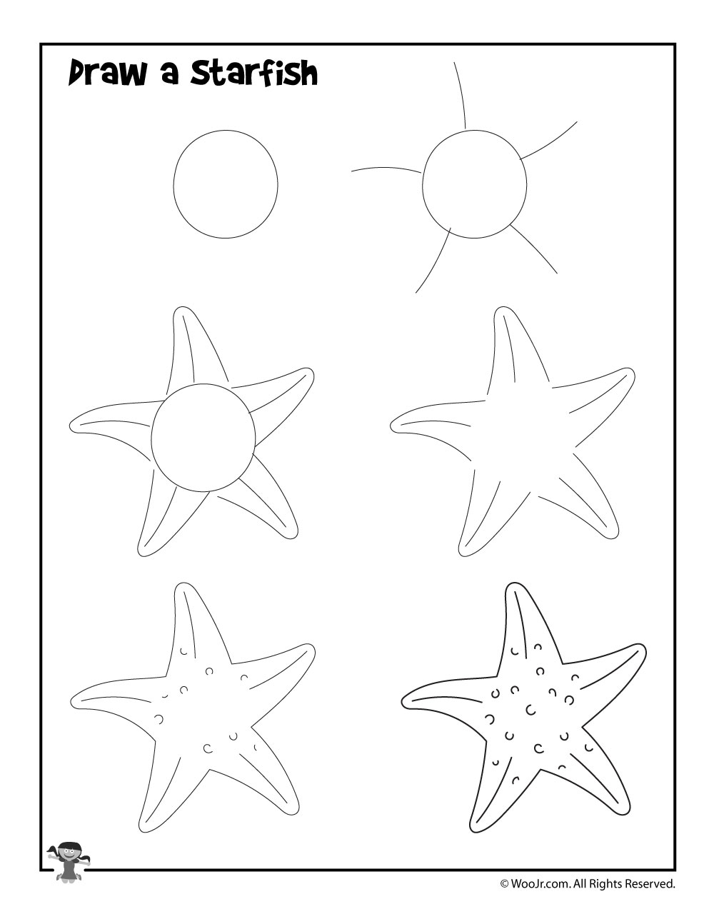 photo about Starfish Poem Printable named How in the direction of Attract a Starfish Woo! Jr. Small children Routines