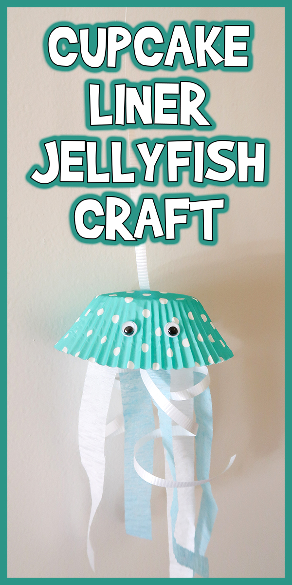 Easy Cupcake Liner Jellyfish Craft Woo Jr Kids Activities