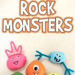 Easy Painted Rock Monsters