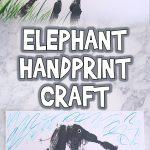 Easy Elephant Handprint Craft