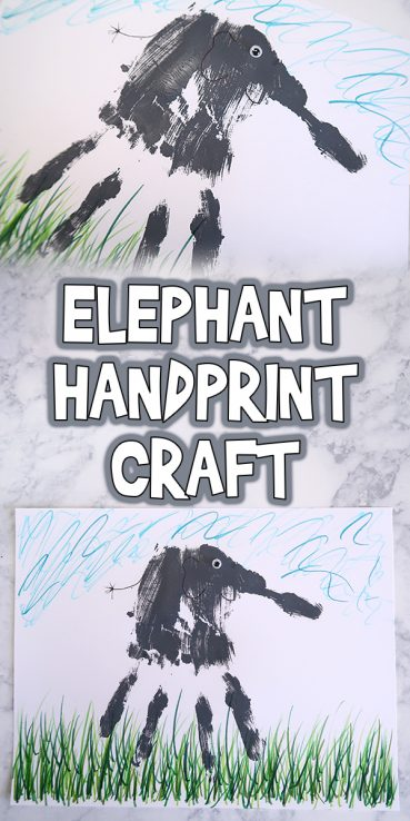 Easy Elephant Handprint Craft