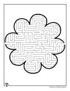 8 Petal Flower Maze