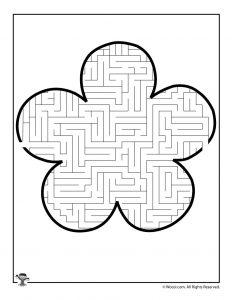 5 Petal Flower Maze