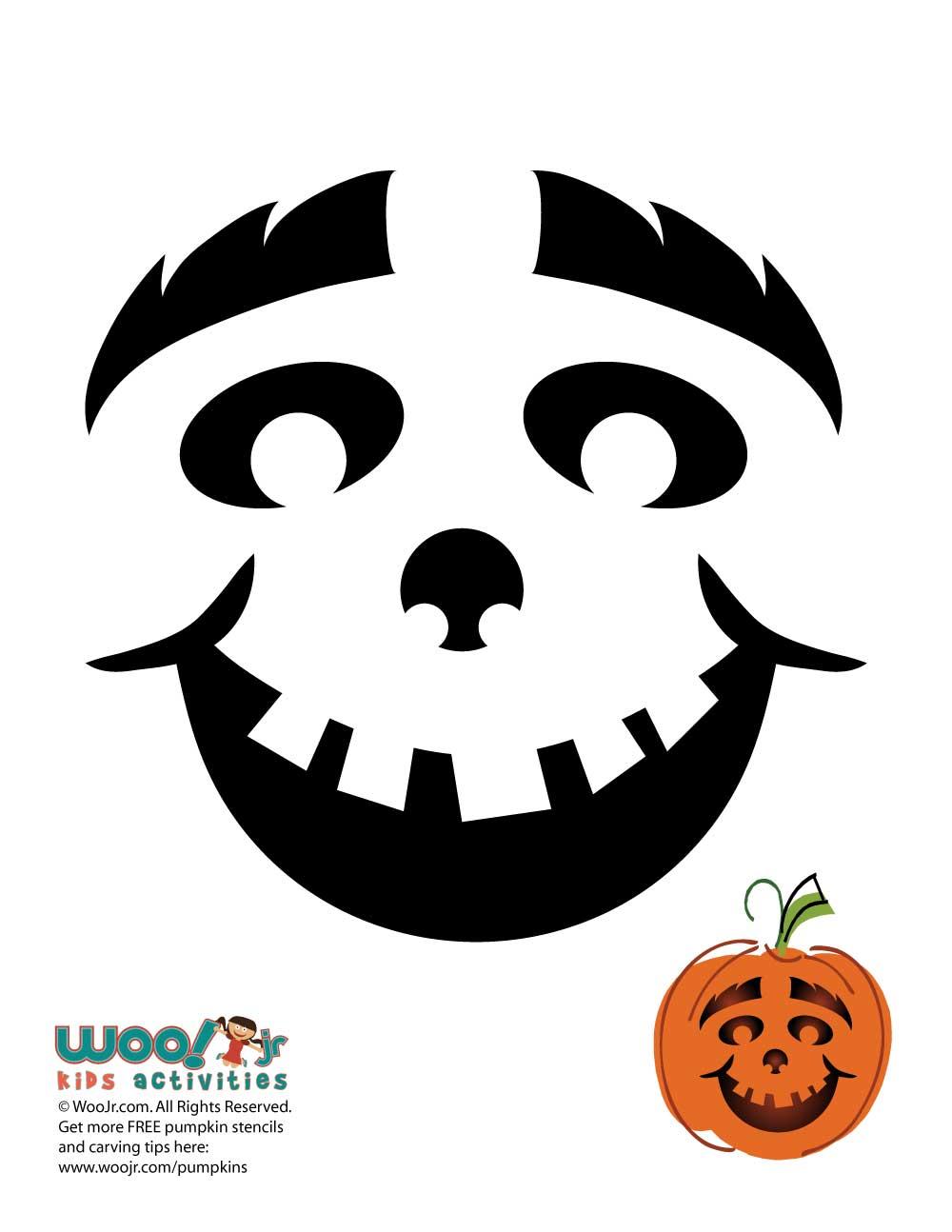 Happy Pumpkin Face   Woo! Jr. Kids Activities