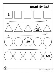 simple skip counting worksheets to print woo jr kids activities. Black Bedroom Furniture Sets. Home Design Ideas