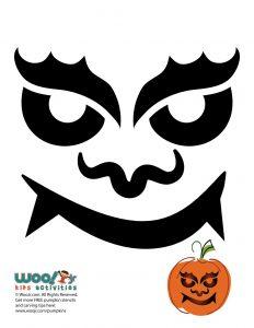 Ugly Pumpkin Face