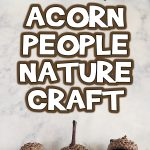 Acorn People Fall Nature Craft