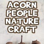 Acorn People Fall Nature Craft