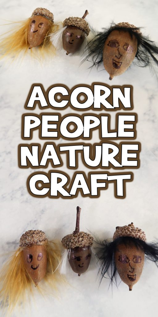 Acorn People Nature Craft