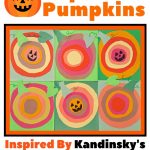 Paper Pumpkins Craft Inspired by Kandinsky's Concentric Circles