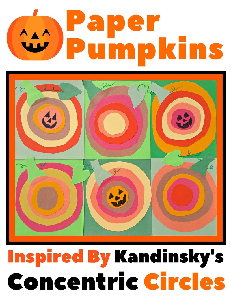 Halloween is around the corner and today ill show you how to create an art history inspired paper pumpkin patch this fall inspired paper art project is