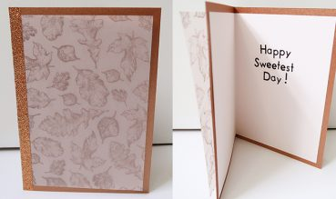 Sweetest Day Card Tutorial