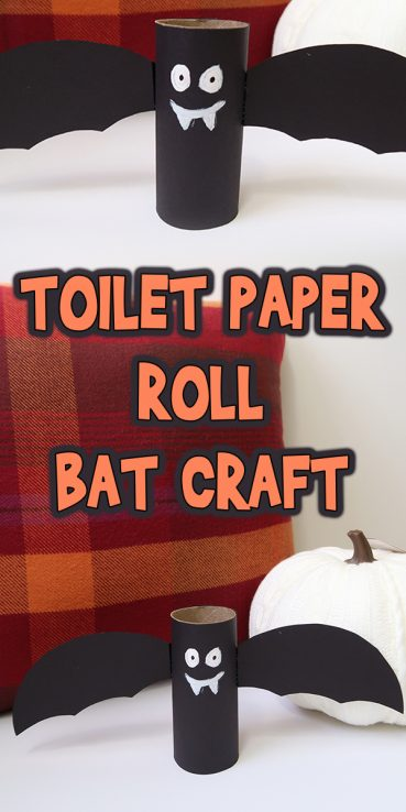 Toilet Paper Roll Bat Craft