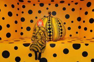 Infinite Polka-Dots Installation by Yayoi Kusama