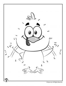 Turkey Dot to Dot Printable Activity