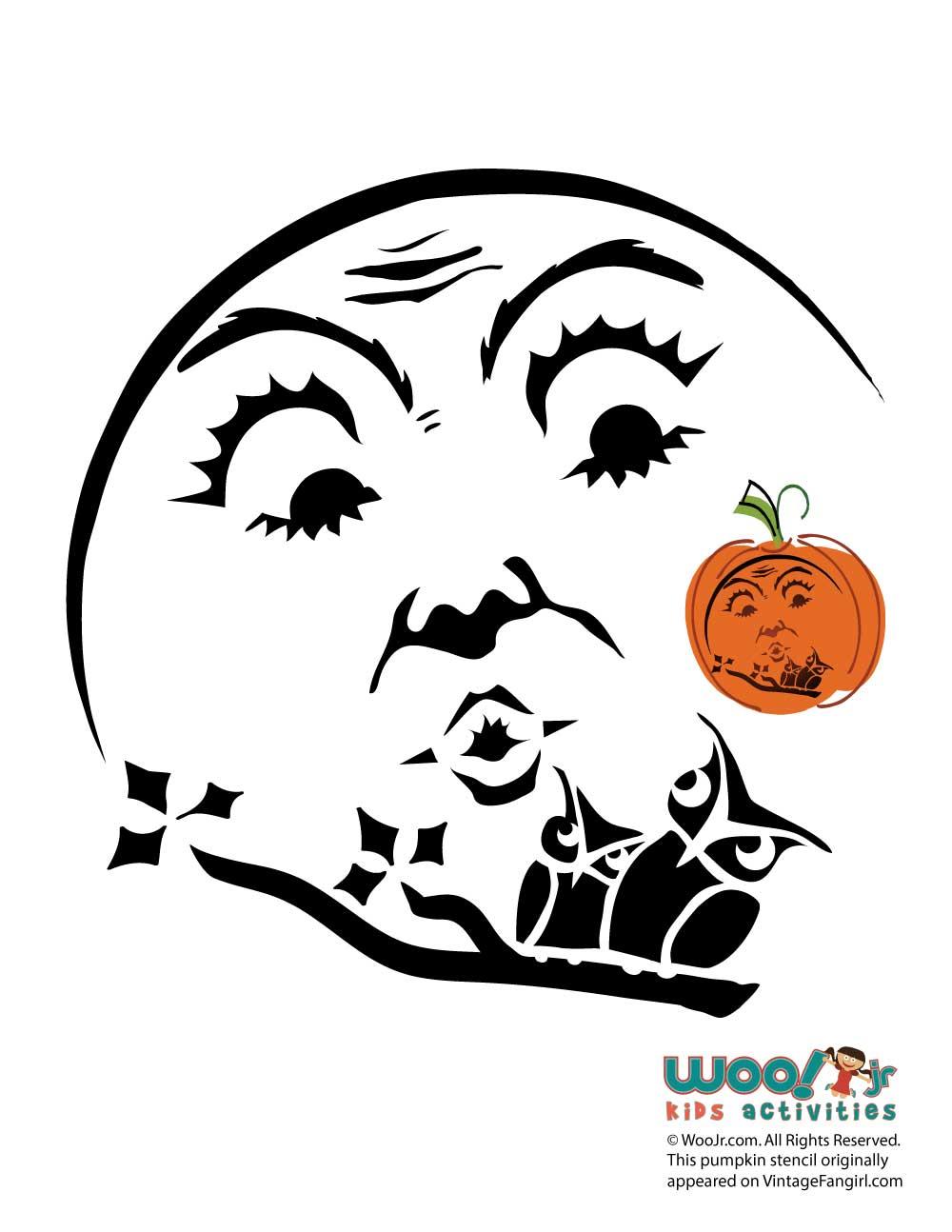 Owl Pumpkin Carving Stencils   Woo! Jr. Kids Activities