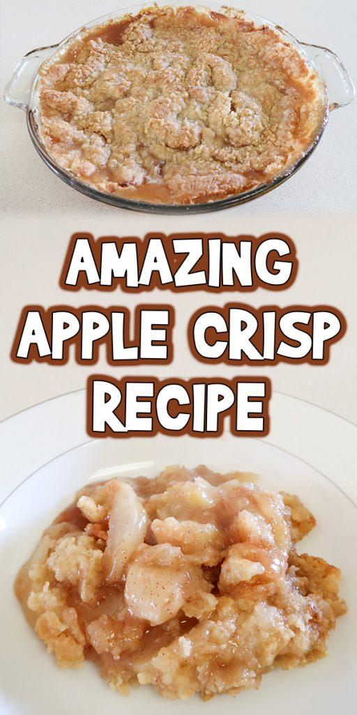 Amazing Apple Crisp Recipe