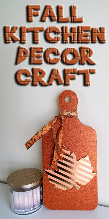 Fall Kitchen Decor Craft