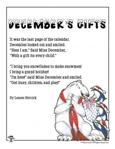 December's Gifts Poetry for Children