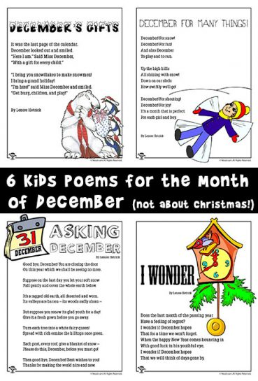 December Poems for Kids