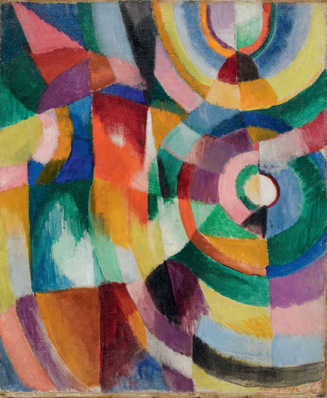 Sonia Delaunay's 1913 Electric Prisms Painting
