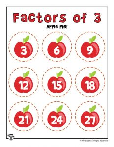 Apple Pie - Factors of 3