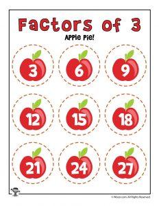 Apple Pie - Factors of 3