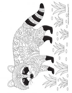 Fall Animal Adult Coloring Pages | Woo! Jr. Kids Activities