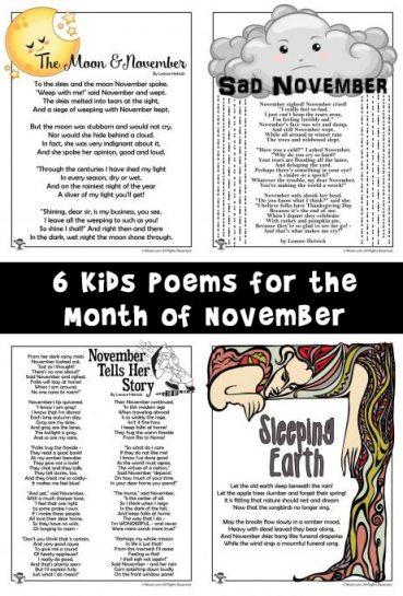 November Poems for Kids